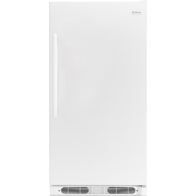 """Tout réfrigérateur de 34"""", 16,6 pi³, blanc"""
