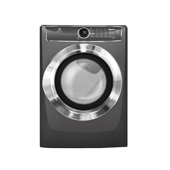 Electric Dryer with Perfect Steam(TM) - 8.0 cu.ft - Titanium