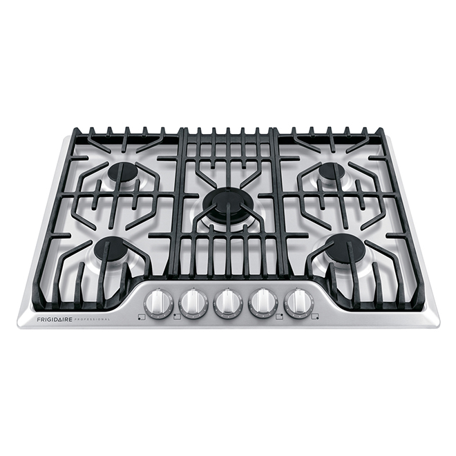 Frigidaire Pro Gas Built-In Cooktop - 30-in - Stainless Steel - 18,200 BTU