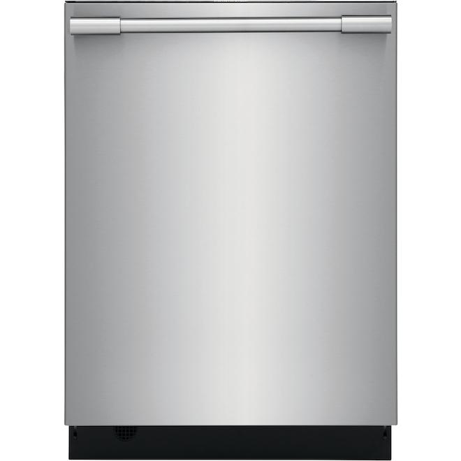 """Lave-vaisselle encastré avec système EvenDry, 24"""", inox"""