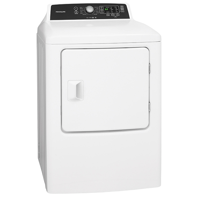 High-Efficiency Gas Dryer - 6.7 cu. ft. - White