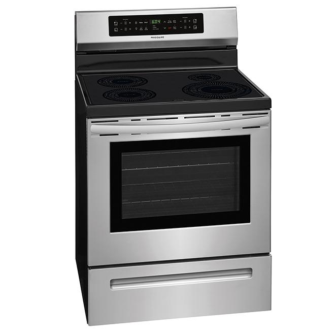 frigidaire cuisini re lectrique induction 5 3 pi inox cfif3054ts r no d p t. Black Bedroom Furniture Sets. Home Design Ideas
