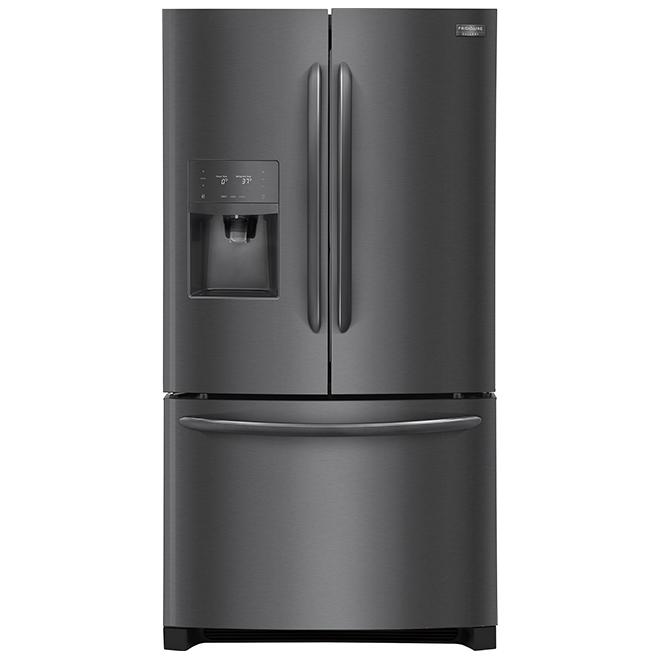 Counter-Depth Refrigerator - 21.7 cu. ft. - Black Stainless