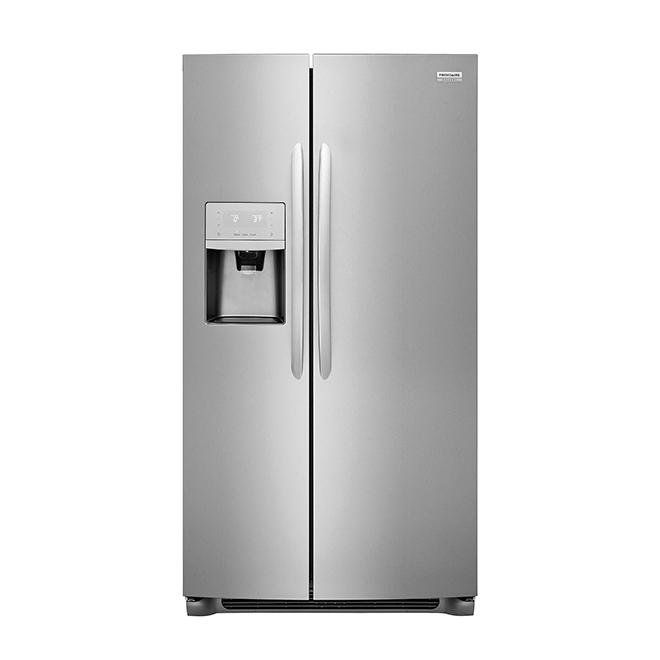 Réfrigérateur à profondeur de comptoir, 22 pi³, inox