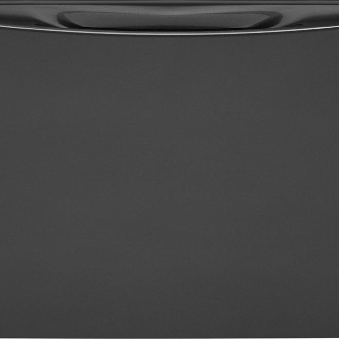 Socle avec tiroir de rangement, 3 pi³, titane