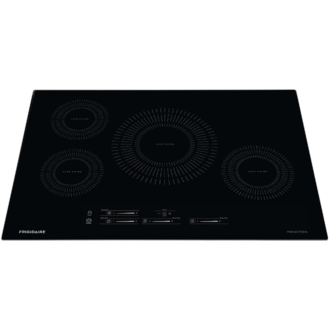 """Table de cuisson à induction avec Auto Sizing(MC), 30"""", noir"""