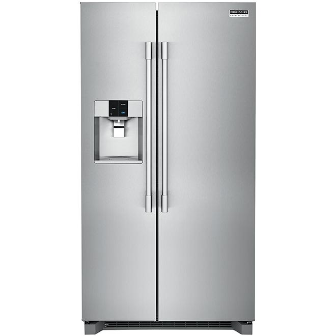 """Réfrigérateur côte à côte, 36"""", 22,0 pi³, acier inoxydable"""