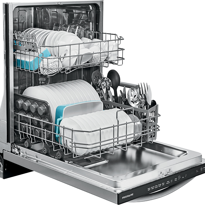 lave vaisselle anti trace encastrable frigidaire md 24. Black Bedroom Furniture Sets. Home Design Ideas