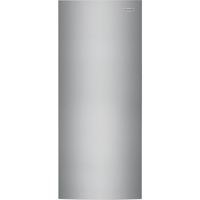 Frigidaire Upright Freezer - 28-in - 15.5-cu ft - Stainless Steel
