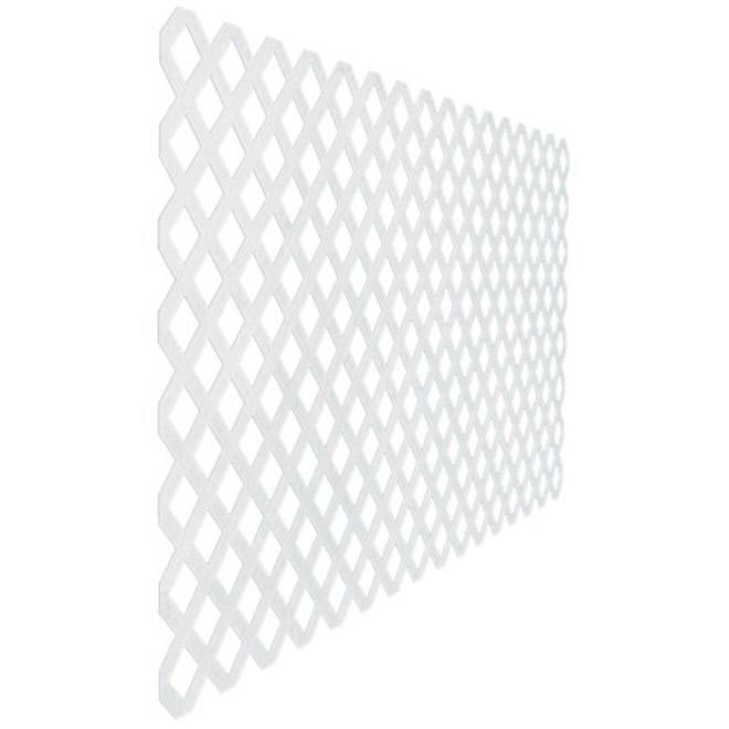 Treillis «Classique», 4' x 8', blanc