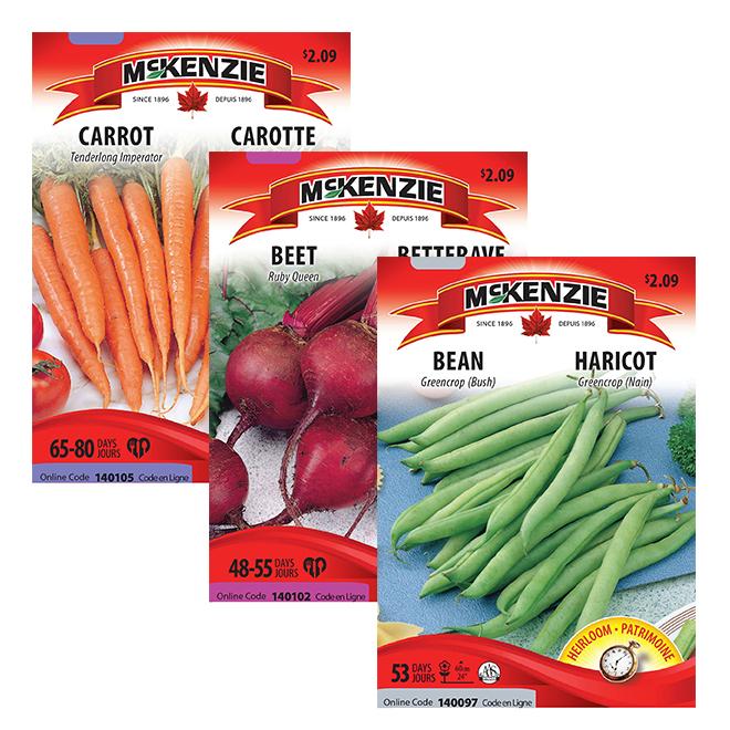 Vegetable Seeds - Assorted