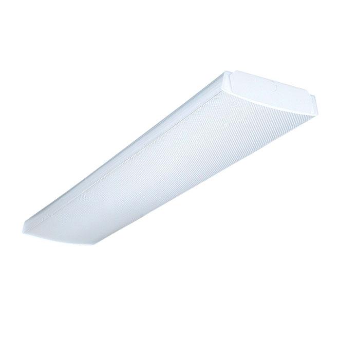Luminaire fluorescent enveloppant à 2 lumières - 48 po