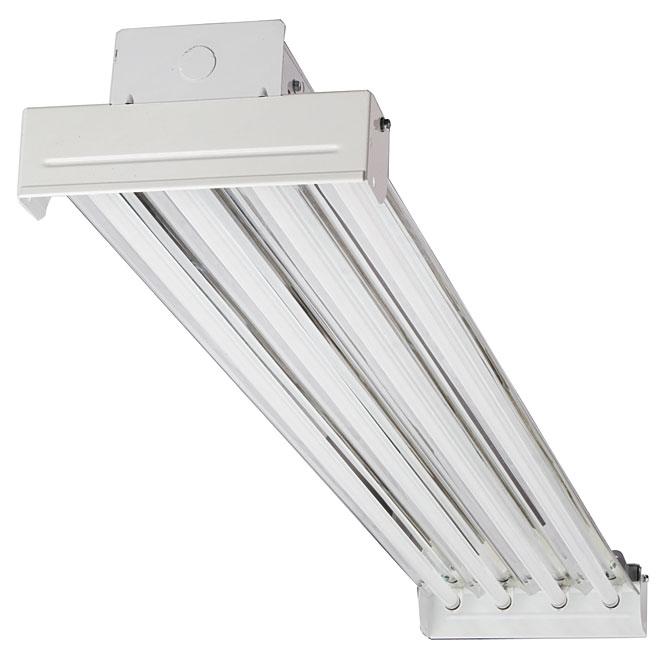 Luminaire fluorescent à 4 lumières - 48 po