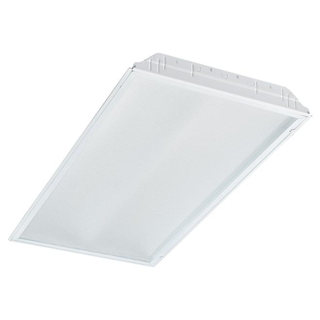 LED Lay-in Troffer Light - 2' x 4' - White