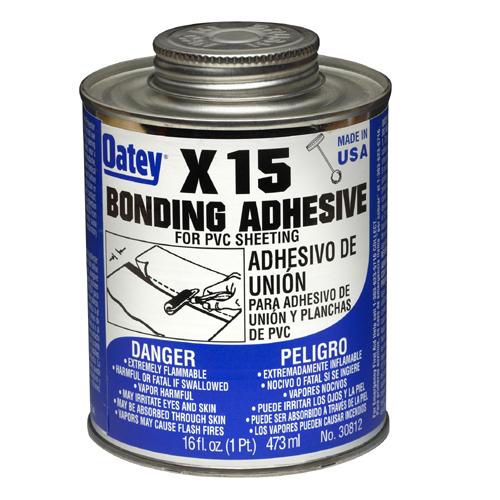 Adhésif de liaison « X-15 » pour membrane de doublure en PVC