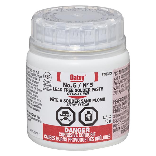 No.5 Lead-Free Solder Paste - 1.7 oz