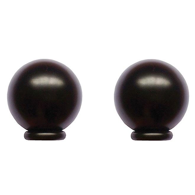 Embouts de tringle «Boule»