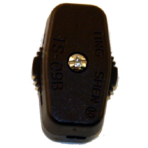 In-Line Universal Cord Switch - Brown