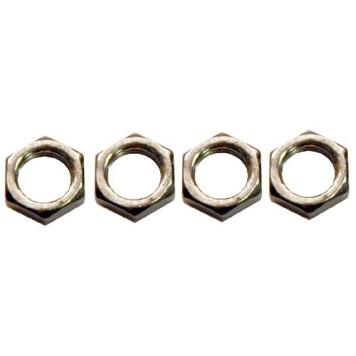 Lock Nut - 1/4 IPS - Zinc Plated - 4 Pack