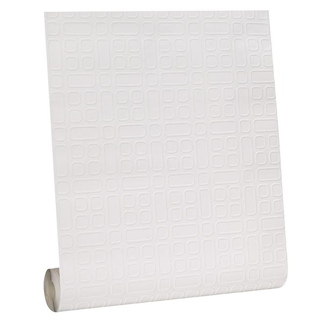 Paintable Wallpaper - Geometric - 56 sq.ft. - White
