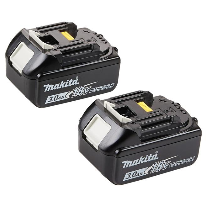 Paquet de 2 batteries 18 V