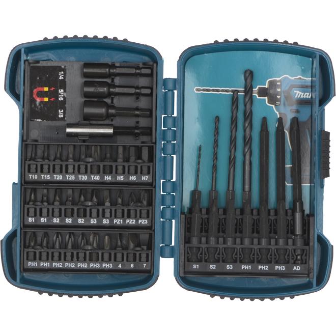Drill Bit Set  - 48 Pieces