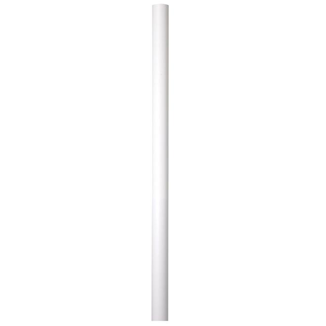 Poteau pour lanterne en aluminium, 82'', blanc