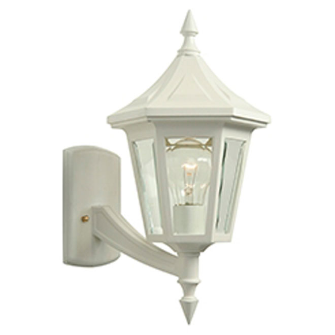 """""""Elegant"""" Uplight Wall Mount Lantern"""