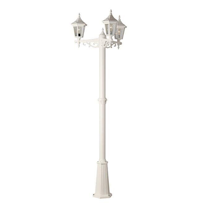 """""""Vintage"""" 3-Head Lamp Post"""