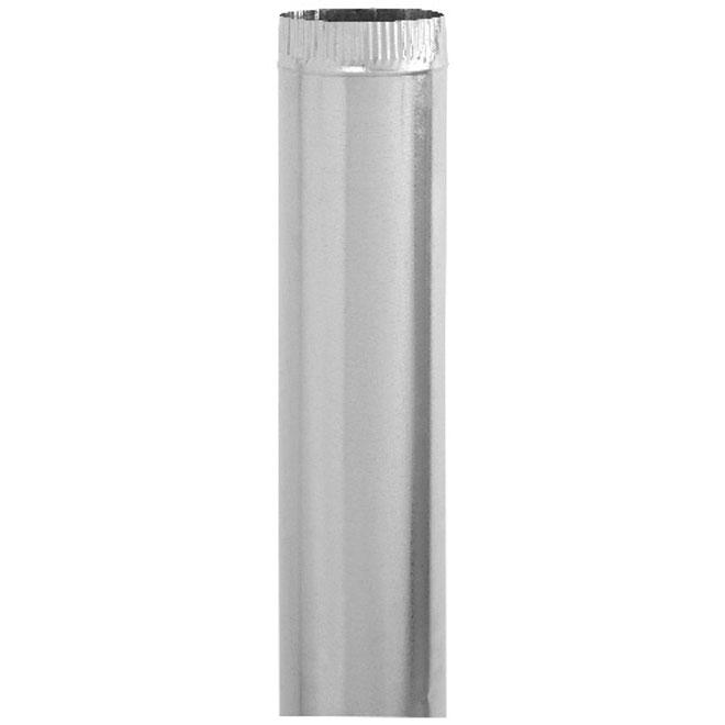 """6"""" Diameter Galvanized Steel Pipe"""