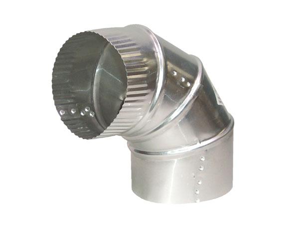 """Coude en aluminium de 4"""" de diamètre à angle ajustable"""