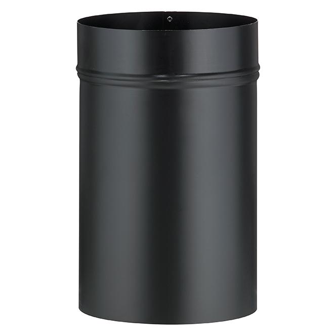 "Black Steel Slip Connector - 7"" x 12"""