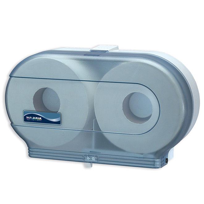 San Jamar Double Toilet Paper Dispenser