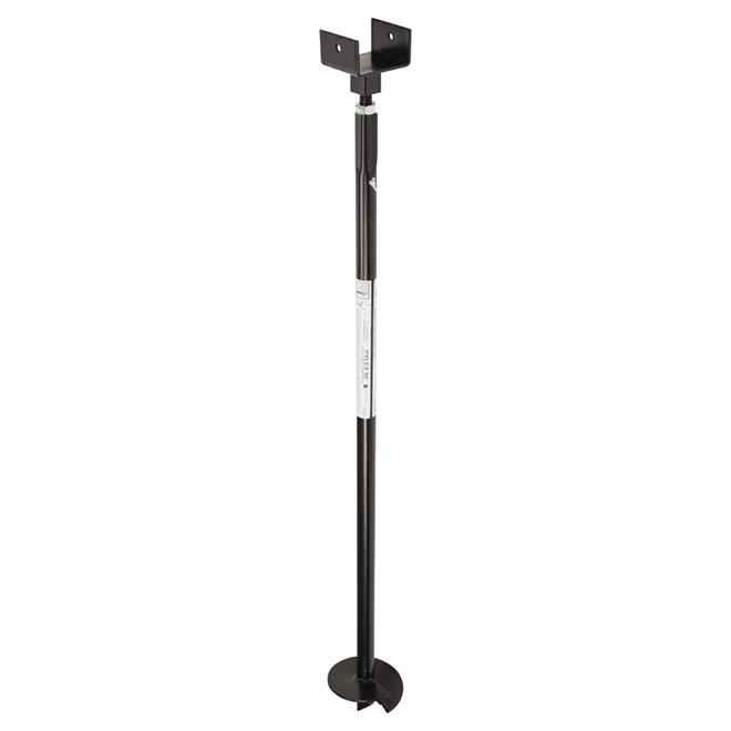 Adjustable Anchor Screw - 50'' - Pylex - Steel - Black