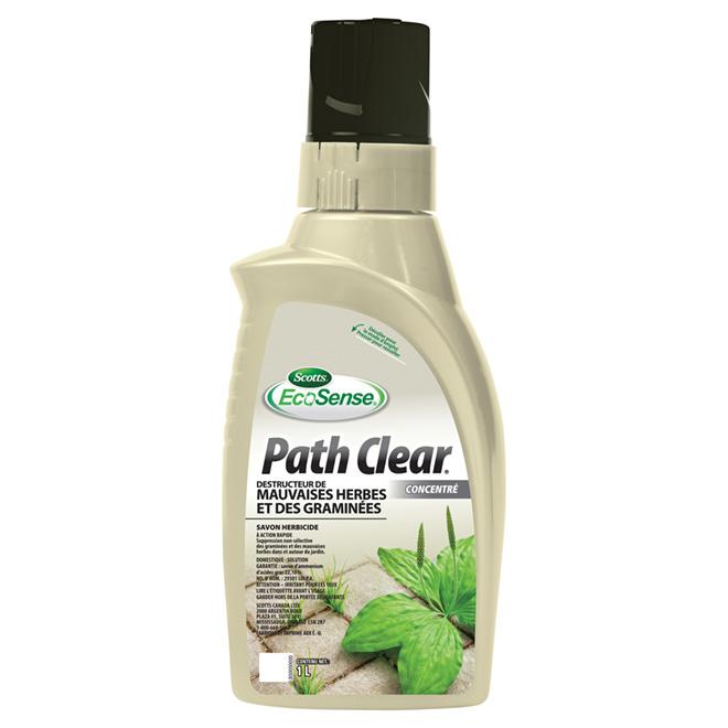 Herbicide - Destructeur de mauvaises herbes «Path Clear» 1 L