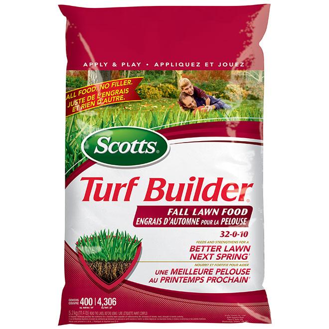 Engrais à gazon d'automne 32-0-10 Turf Builder, 5,2 kg