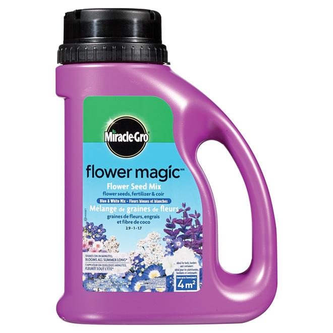 Semences de fleurs bleues et blanches «Flower Magic»