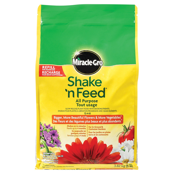Engrais tout-usage 12-4-8 «Shake 'n Feed»