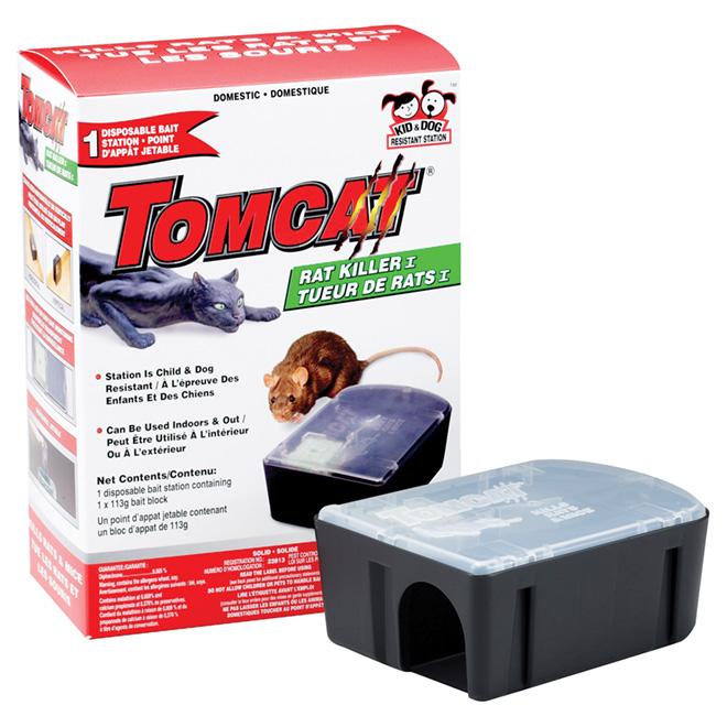 Piège à rat jetable «Tomcat»