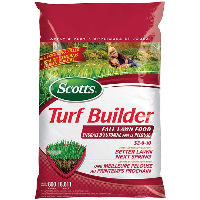 Turf Builder 32-0-10 Fall Lawn Fertilizer - 11.8 kg