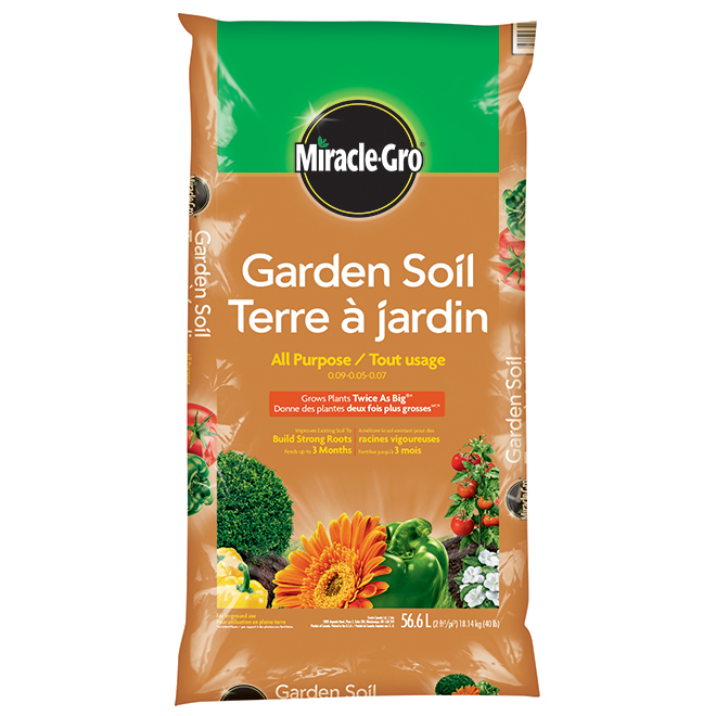 Terre à jardin tout usage, Miracle-Gro, 56,6 l