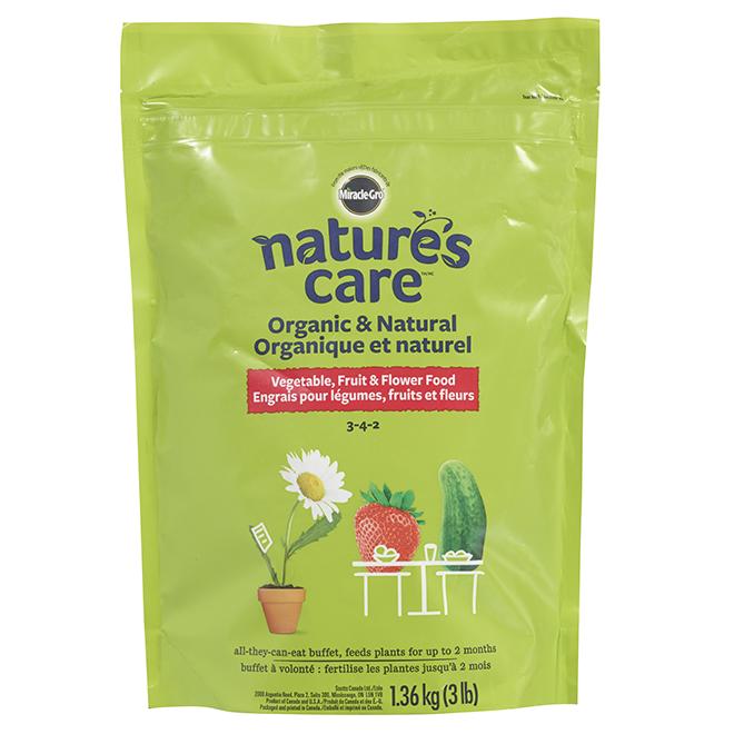 Organic Plant Fertilizer - 3-4-2 - 3 lb