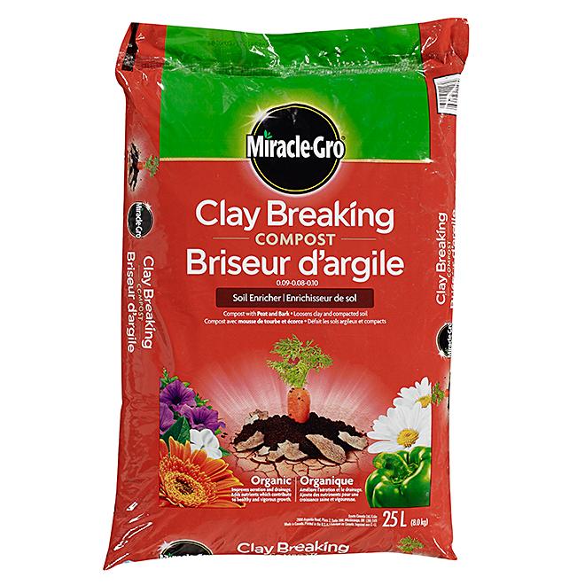 Compost briseur d'argile organique, 09-08-10, 8 kg