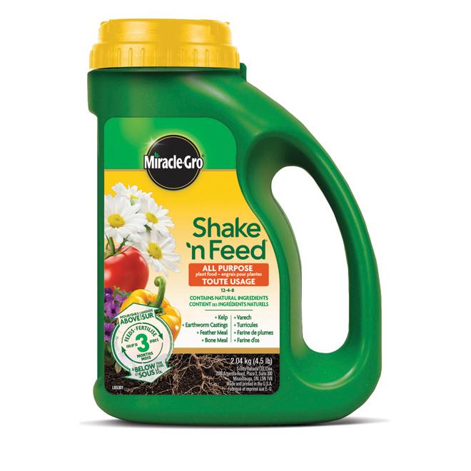 Engrais pour plantes Shake 'N Feed(MD), 12-4-8, 2,04kg