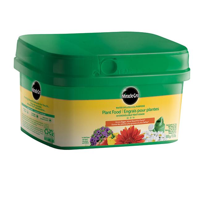 Engrais tout usage pour plantes, hydrosoluble, 500 g