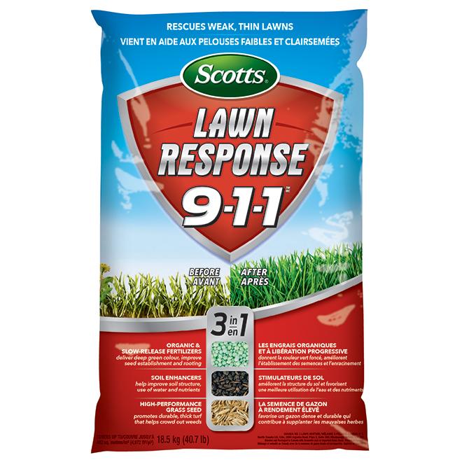 """Lawn Response 9-1-1"" Fertilizer - 18.5 kg"
