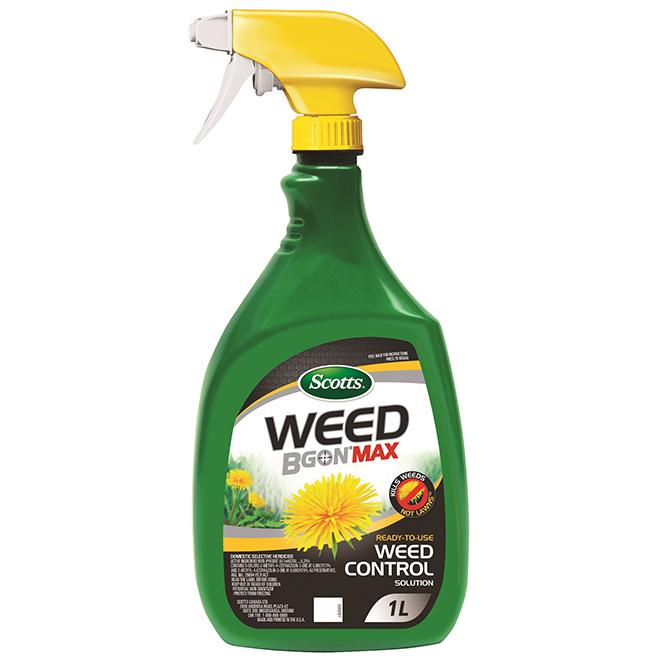 Herbicide Scotts Weed B Gon MAX, prêt à l'emploi, 1 litre