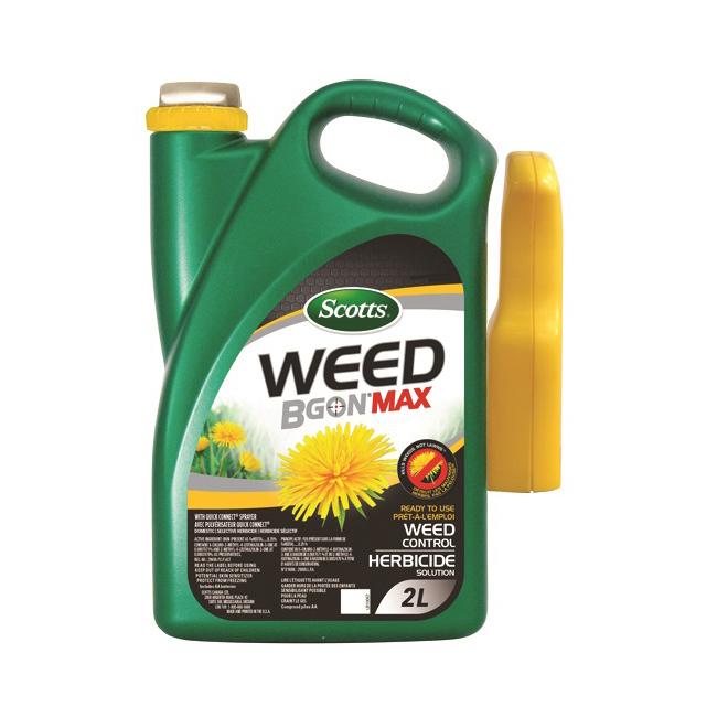 Herbicide Scotts Weed B Gon Max, prêt à l'emploi, 2 litres