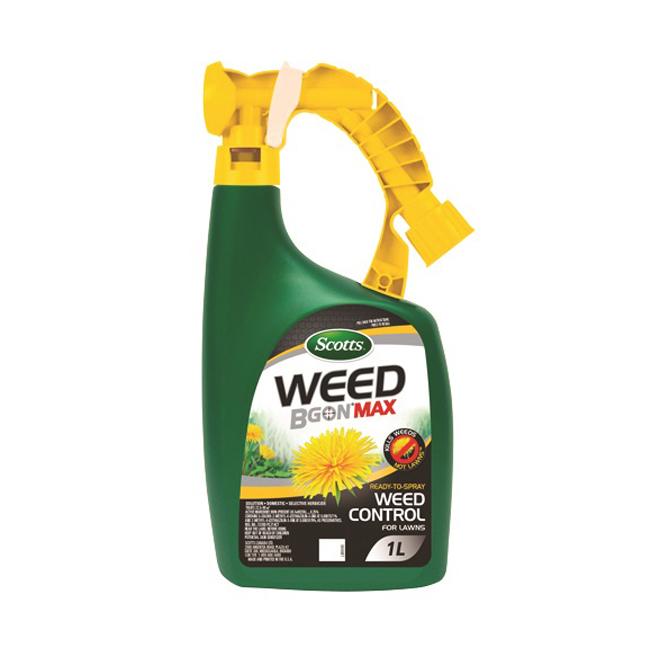 Herbicide Scotts Weed B Gon Max, prêt à pulvériser, 1 litre