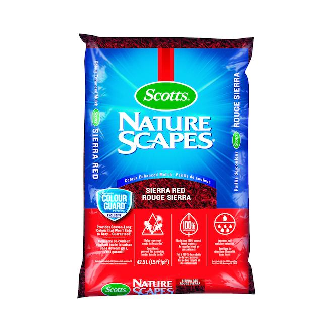 Paillis Nature Scapes de Scotts, 42,5 l, rouge sierra